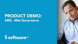 Software AG-Produkt-Demo: ARIS - Mini-Governance