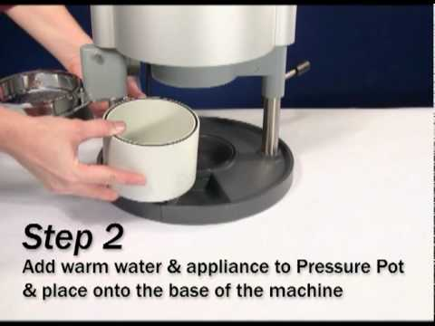 Using the Pressure Pot with the Drufomat Scan