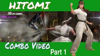 DOA6 Hitomi Combo Video Part 1
