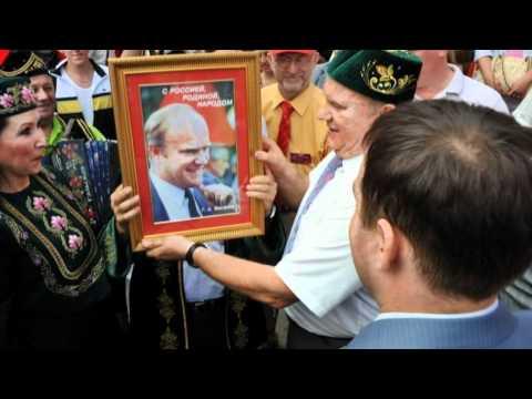 Zyuganov for President,  Russia 2012 !
