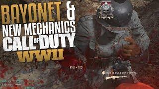 Call of Duty: WW2 Bayonet & New Mechanics (CoD WII Multiplayer Gameplay)
