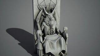Satanists Unveil Statue For Oklahoma Capitol