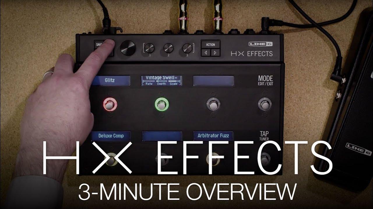 LINE 6 HX Effects Helix Multi FX Processor