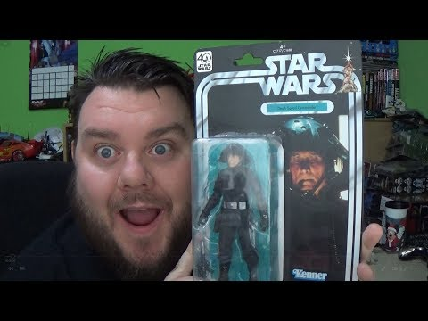Star Wars Black Series Death Squad Commander 40th Anniversary Action Figure Unboxing Toy Review