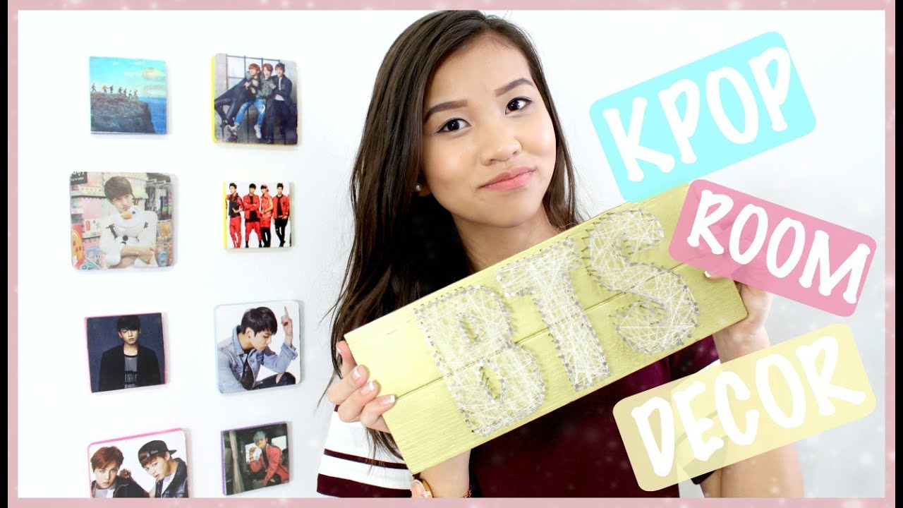 Diy Kpop Room Decor Onlykelly Youtube