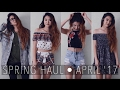 HAUL: Forever 21, UO, PacSun, SheIn | April 2017