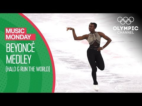 Beyoncé Medley by Maé-Bérénice Méité - Figure Skating | Music Monday
