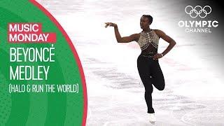 Beyoncé Medley by Maé-Bérénice Méité - Figure Skating | Music Monday