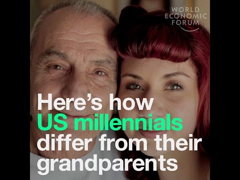 Here's how US millennials differ from their grandparents