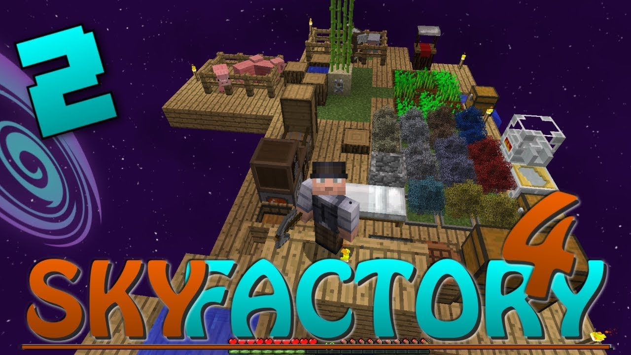 Sky Factory 4 - #2 First Prestige Point! - Let's Play