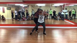08/31/15 - Sensual Bachata Workshop with Daniel & Desirèe