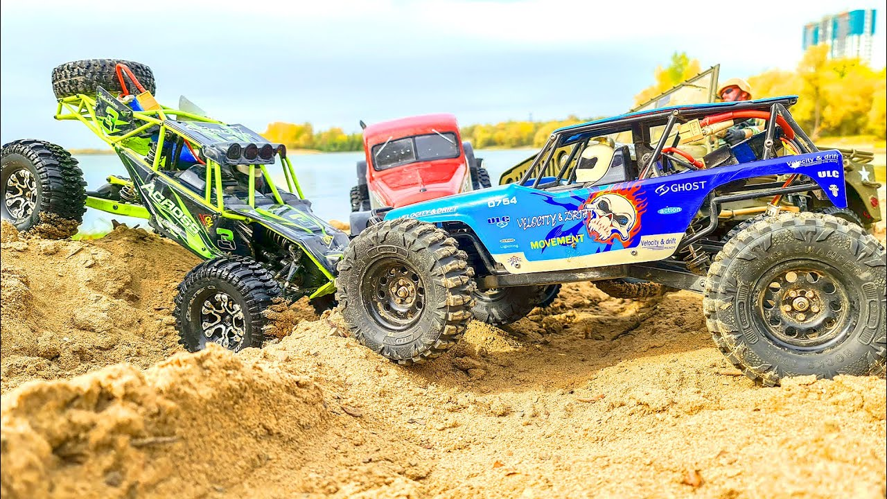 RC Cars 4x4 Sands Racing and MUD Action WLtoys 10428 – Traxxas TRX4