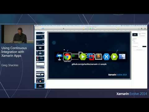 Xamarin Evolve 2014: Using Continuous Integration with Xamarin Apps - Greg Shackles, Olo