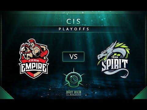 Empire vs Spirit Game 1 - TI7: CIS Regional Qualifiers Playoffs: Finals - @TobiWan @Fogged