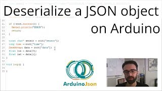 How to deserialize a json document with arduinojson 6