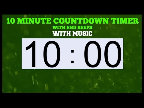 10 MINUTE TIMER End Beeps And Music YouTube