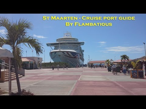 St Maarten Carribean Cruise Port Guide
