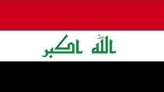 Bandera e Himno Nacional de Irak - Flag and National Anthem of Iraq