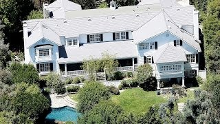 Mila Kunis Ashton Kutcher New Beverly Hills 90210 House