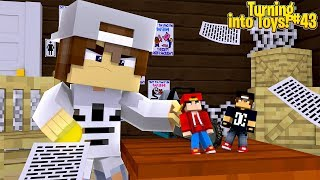 Minecraft Toys #43 - THE NICE KID WANTS THE MAGIC COIN FOR HIMSELF!!