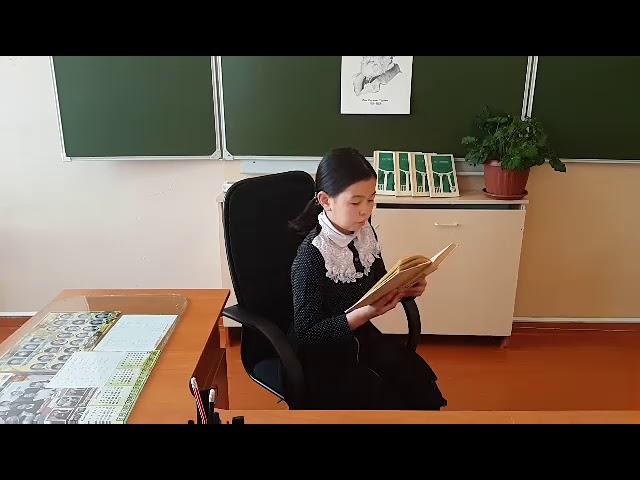 Изображение предпросмотра прочтения – ТамараХамаева читает произведение «Стихотворение в прозе.Мы ещё повоюем.» И.С.Тургенева