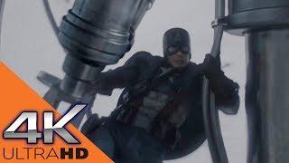 Капитан Америка Против Армии Красного Черепа в Самолете ★ Первый Мститель (2011)