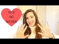 MY TOP 10 FREE DATE IDEAS! | VALENTINE'S DAY IDEAS
