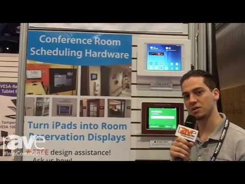 InfoComm 2016: VidaBox Displays VESA Enclousres and Glass Mounting Systems