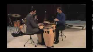 """Cyclical Paradox No  2"" by N. Scott Robinson - Conga duo"