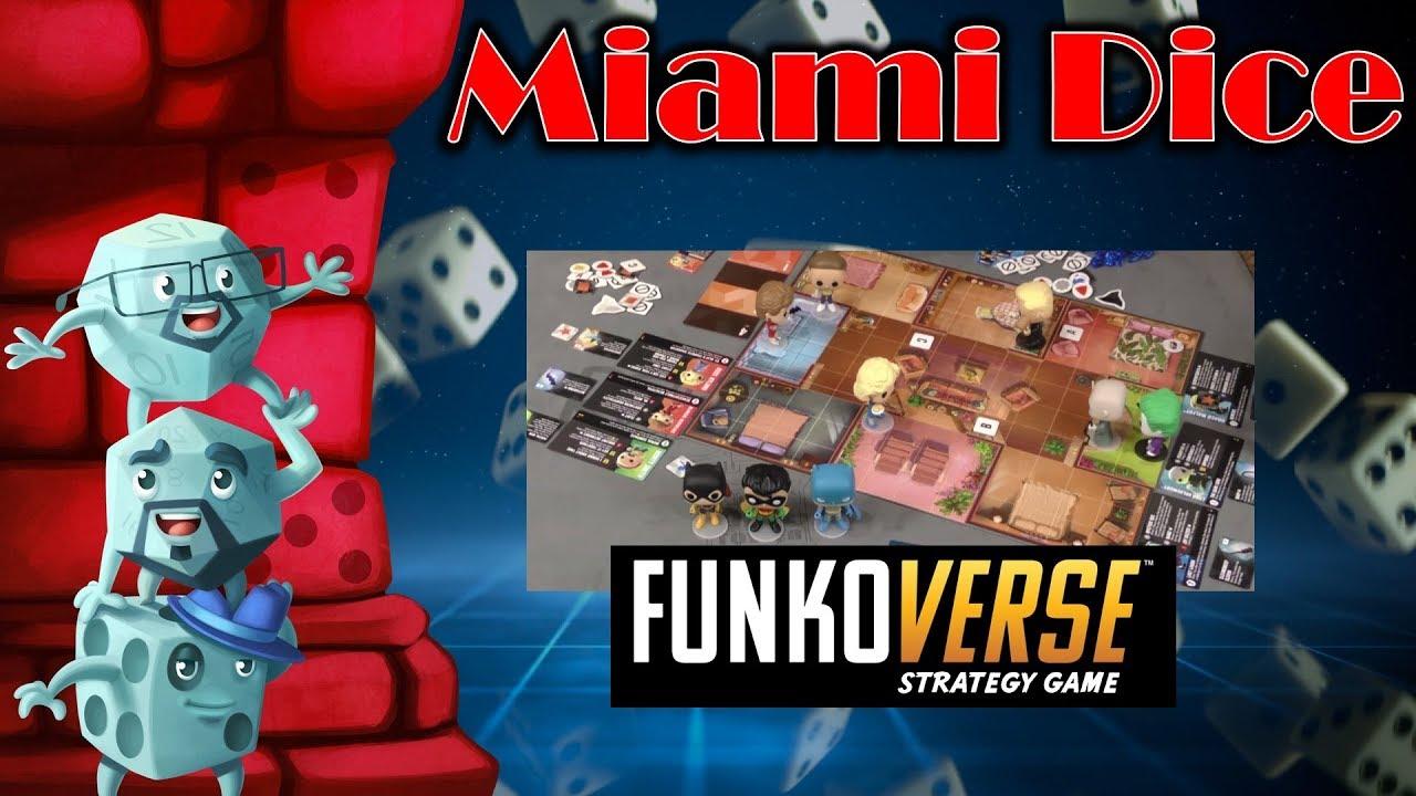 Miami Dice: FunkoVerse Strategy Game - Stack Vid