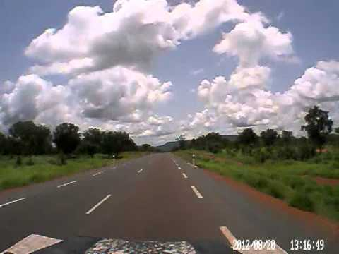 Dash cam video of Mora (Senegal) to Kita (Mali) - part 2