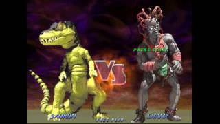 Primal Rage 2 Sauron Playthrough