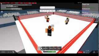 TNA Wrestling Roblox Style: Mr.Anderson vs RVD (With Mick Foley)