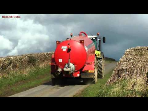 Muck with Three Tankers - 1)  the Claas and HiSpec.