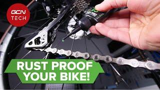자전거를 녹슬지 않게 유지하는 방법