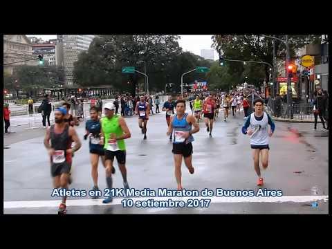 21K Media Maraton Buenos Aires 10 setiembre 2017