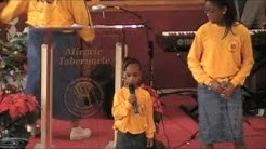 """""""Now I Can Say I Love You Jesus""""   Miracle Tabernacle Youth Choir"""