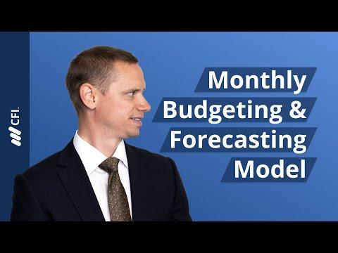 Monthly Budgeting & Forecasting Model