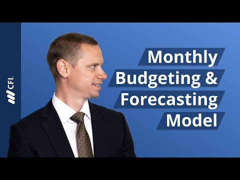 Monthly Budgeting & Forecasting Model