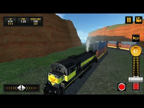Euro Train 2018: Tourist Driving Simulator Game 3D #1 Full Train Journey Level 5 - Android GamePlay
