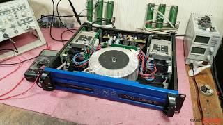 Park Audio V4-1800, CF1800, VX1800 ремонт обзор усилителя