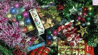 Christmas Decoration Haul / Christmas Decor Haul  / Unboxing Christmas Ornaments