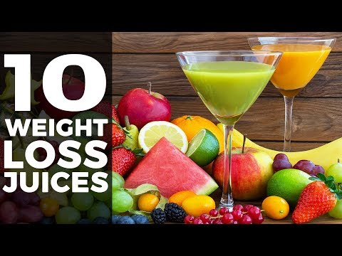 10 WEIGHT LOSS JUICES