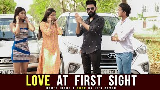 LOVE AT FIRST SIGHT | don't judge a book by it's cover | Desi People | Dheeraj Dixit