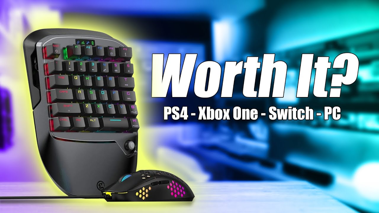 New Mouse and Keyboard Gaming Keypad For All Consoles - VX2