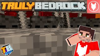 Truly Bedrock SMP : S2 - E8 - Making a Wither Skeleton Farm!
