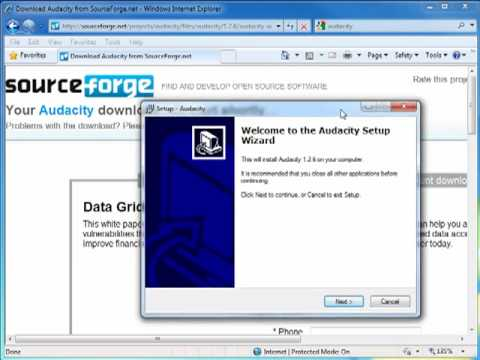 How to Download and Install Audacity and Lame mp3 Encoder