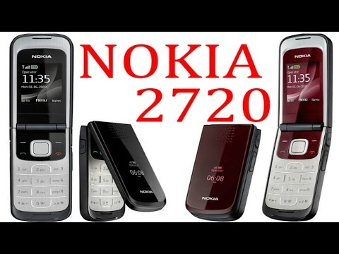 Nokia 2720 fold S40 OVI unboxing
