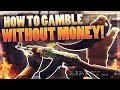 HOW TO BET IN CSGO WITH NO MONEY AT ALL!!! (MAKE PROFIT!) FREE KNIFE??!!!!