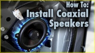 How To Install Coaxial Car Speakers | Aftermarket Speakers in a Scion tC | Car Audio 101